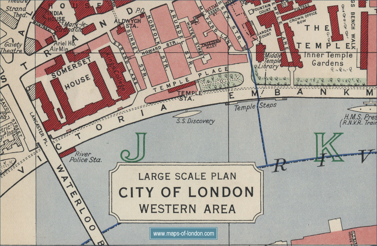 Sitemap Maps Of London