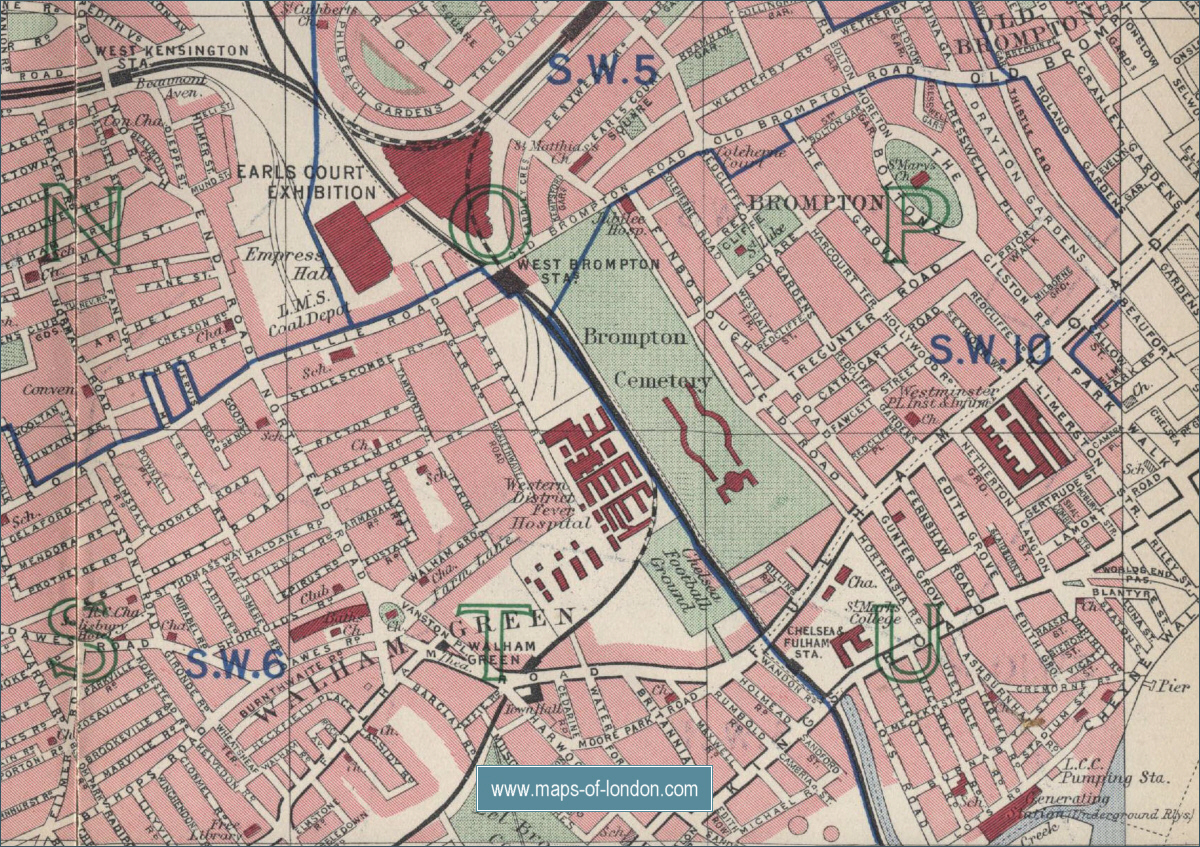 hammersmith map: