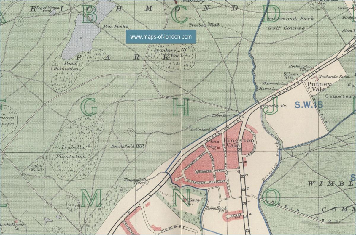 Map Of Richmond London